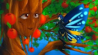 The Butterfly and the Apple Tree