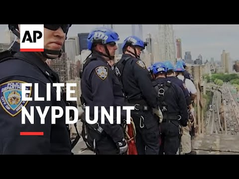 Elite NYPD Unit Takes On High Rise Rescues