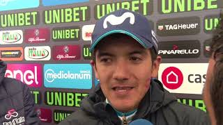 Richard Carapaz- Entrevista en la meta - 8a etapa - Giro d'Italia 2018