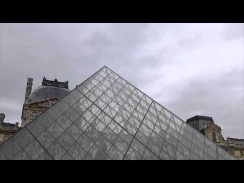 #13522 Louvre Pyramid Raw [Museums and history]