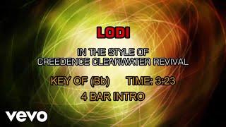 Creedence Clearwater Revival - Lodi (Karaoke)