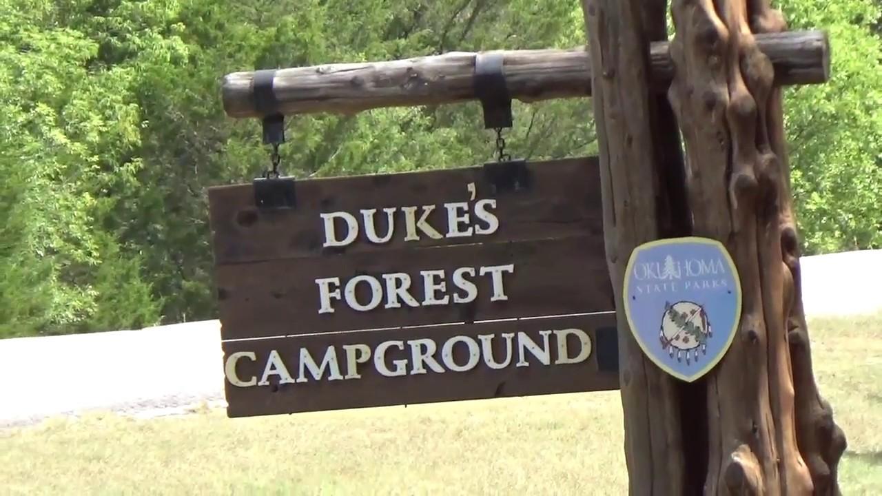 Awesome Lake Murray Campground Oklahoma - YouTube