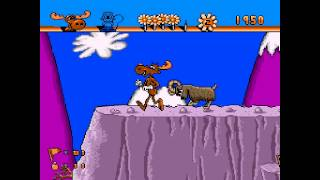 The Adventures of Rocky and Bullwinkle and Friends ... (Sega Genesis)