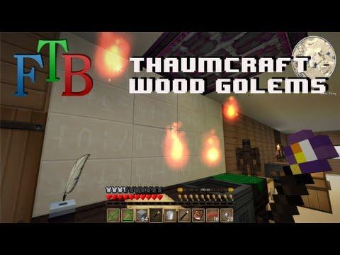 Minecraft Feed The Beast - Thaumcraft - Part 1 (Golemancy) |