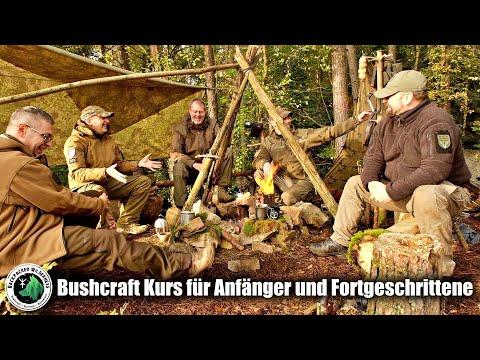 Bushcraft Kurs für Anfänger und Fortgeschrittene  -Tiefes Walderlebnis -