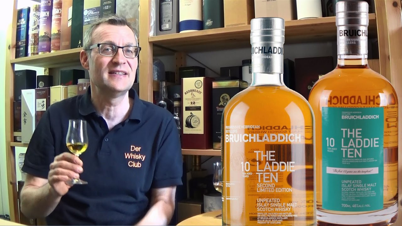 Whiskyduell / Laddie 10 - 1st vs 2nd Edition - YouTube