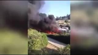 عملية تفجير الحافلة في القدس 18_4_2016