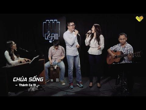VHOPE | Thánh Ca 111: Chúa Sống - Nenita, Khánh Linh & Thanh Trúc | CHẠM - Live Acoustic