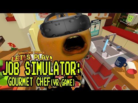 Annoying Orange Plays - Job Simulator #3: Gourmet Chef!