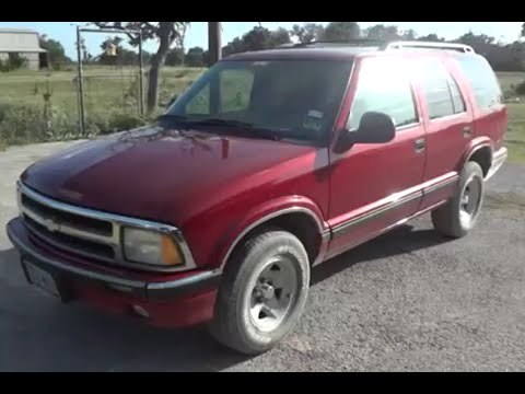1996 chevrolet blazer ls review youtube 1996 chevrolet blazer ls review