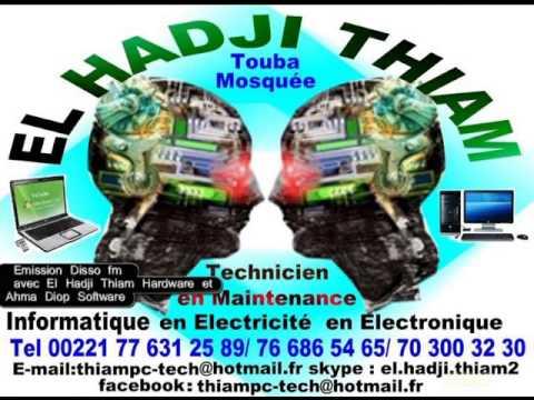 11. El hadji Thiam à Touba Sénégal Créations d'énergie el hadji et ahma le 10.02.2014