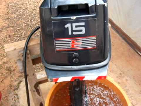 Evinrude 15 hp 1990 youtube for 15 hp motor weight