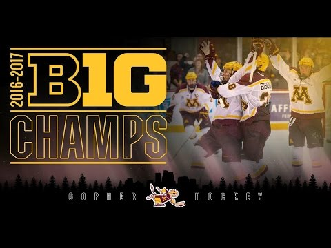 Highlights: Gopher Hockey Makes History, Wins 6th Straight Conference Title
