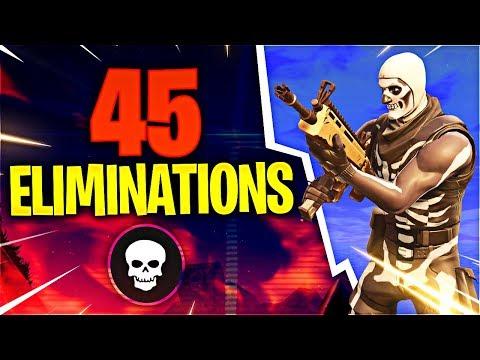 45 ELIMINATIONS! (Fortnite Battle Royale)
