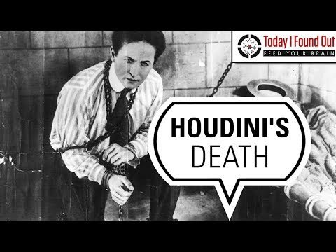 How Did Harry Houdini Actually Die?