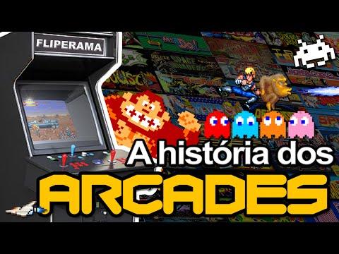 A História dos Arcade e Fliperama