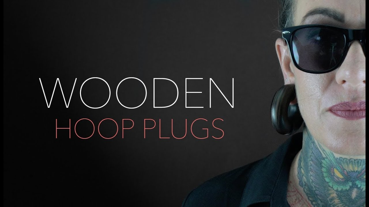 3 4 Plugs >> Wooden Hoop Plugs 8g 3 4 Urbanbodyjewelry Com