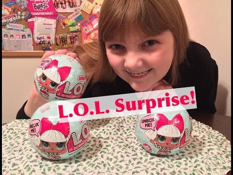 NEW L.O.L. Surprise! Dolls Blind Box 7 Layers of Surprise Toys - Unboxing & Review!  #CollectLOL