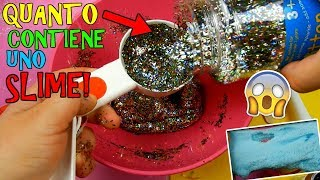 SLIME! QUANTI INGREDIENTI RIESCO A METTERE DENTRO?! (SLIME TEST) Iolanda Sweets