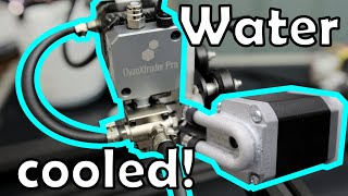 How I made my own water cooling blocks and a added water cooled DyzeDesign pro hotend.