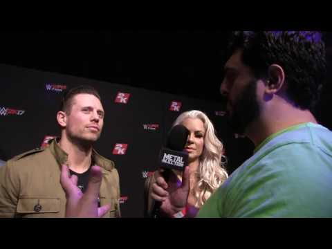 The Miz & Maryse on Favorite Metal Bands & Learning Guitar | Metal Injection