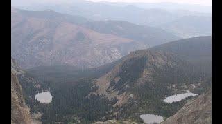 Backpacking RMNP-Colorado-Continental Divide National Scenic Trail Loop