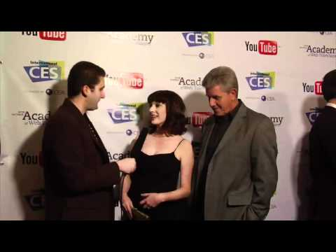 2012 IAWTV Awards Blue Carpet Interview: Julie Ann Emery and Sam McMurray of And Then We Got Help