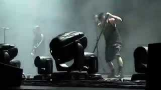 Somewhat Damaged LIVE Nine Inch Nails 7-30-14 Susquehanna Bank Center, Camden