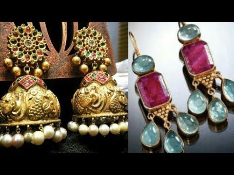 Most Beautiful Earrings Designs Ever Latest Earring Gold You