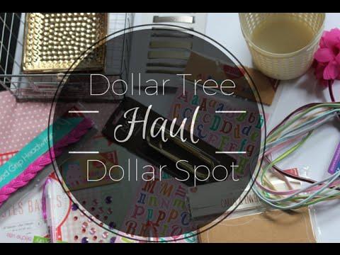 dollar tree and target dollar spot haul