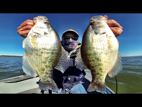 February Crappie Fishing In Kansas