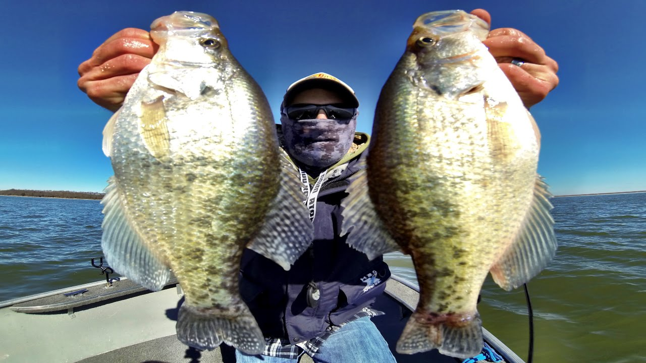 February crappie fishing in kansas youtube for Fishing in kansas