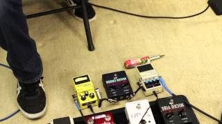 Cheap Pedals Great Sound - Pedal Demo - Boss Voodoo Labs