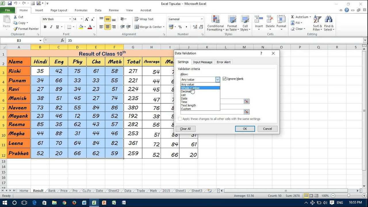 worksheet Excel Data Validation List From Another Worksheet shortcut key for data validation dialog box in excel youtube