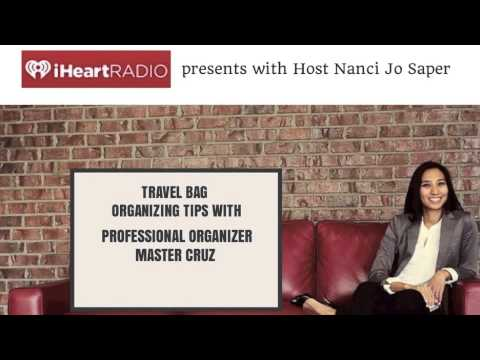 How to Organize Your Travel Bag on iheartRADIO
