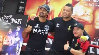 JUGGERNAUT JOY JOYCE - 'IAN LEWISON IS TOUGH HE'S DURABLE & HE CAN PUNCH SO I NEED TO BE FOCUSED'