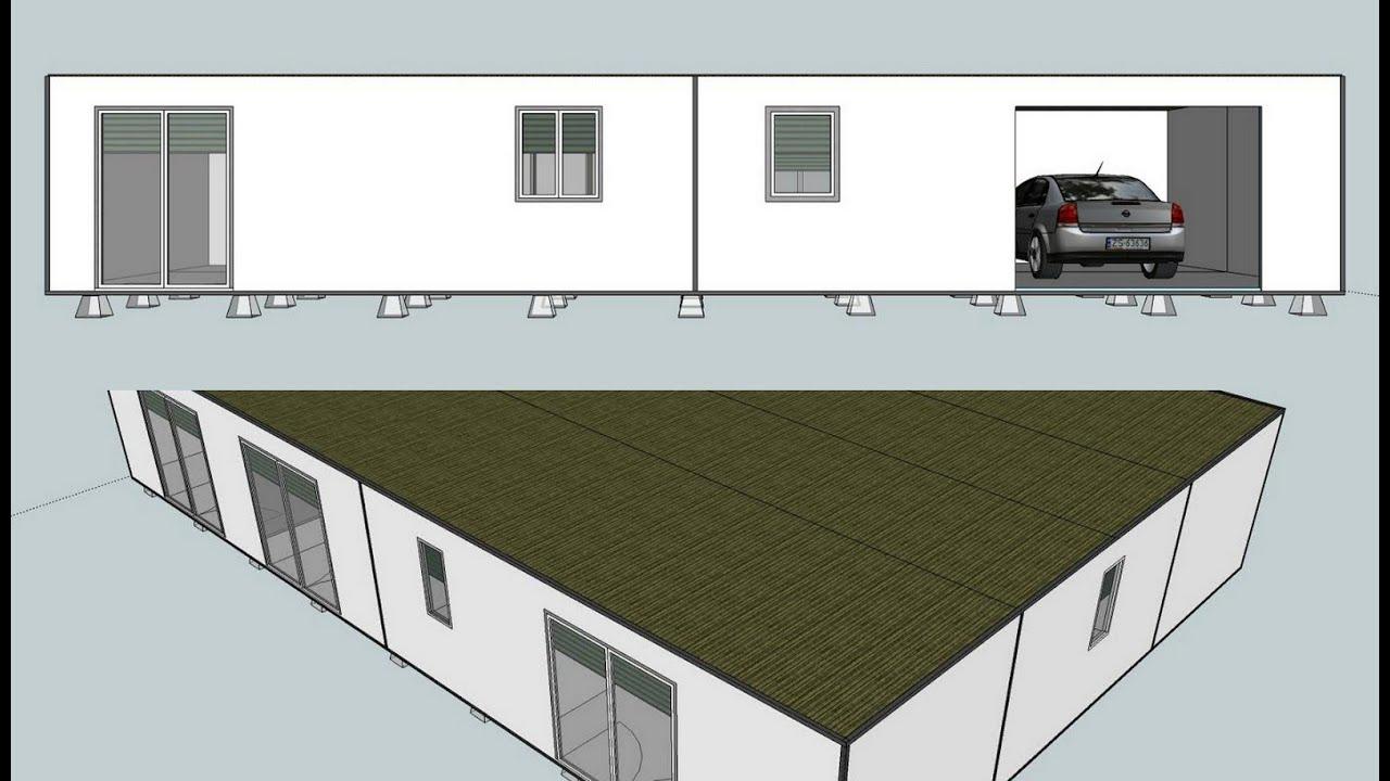 L 39 maison verte maison container pas cher container for Maison container pas cher