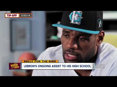 1dbc9cb660a17 LeBron James continues to give back to alma mater St. Vincent-St. Mary