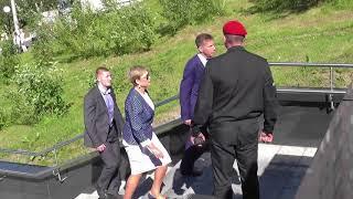 Открытие памятника Николаю Чудотворцу в Мурманске
