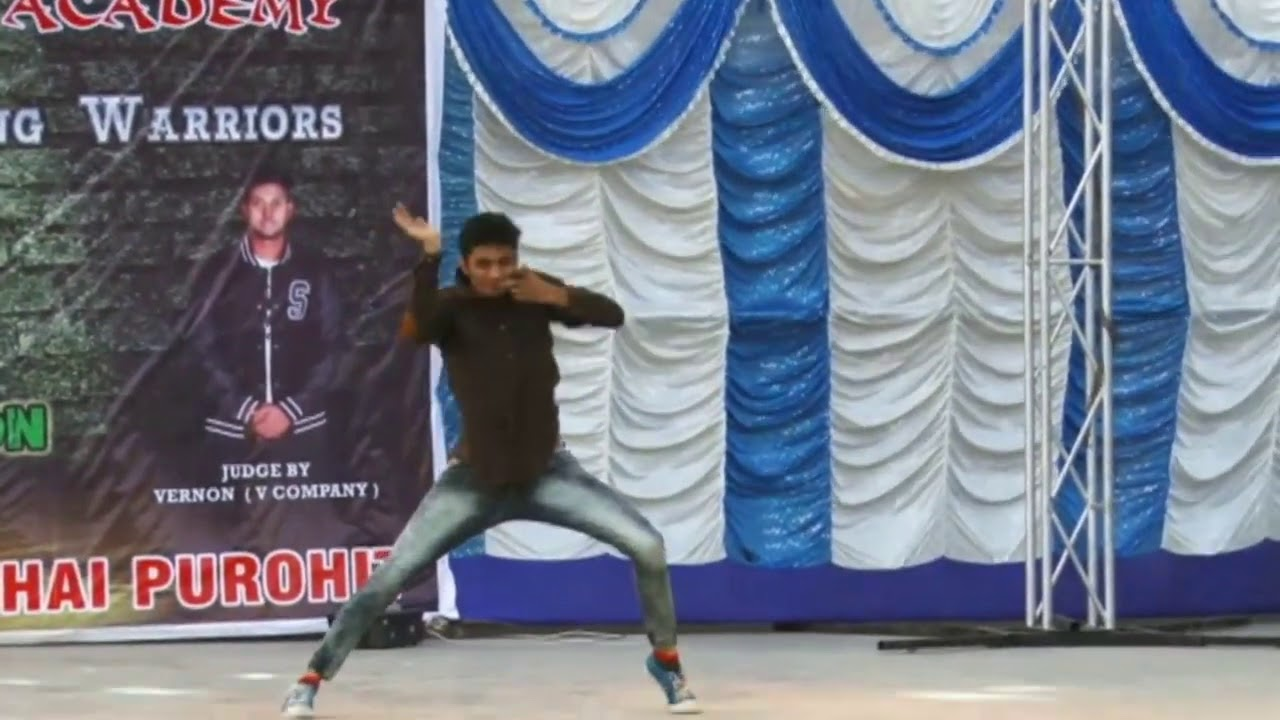 YOGESH PARMAR | ALL INDIA DANCE CHAMPIONSHIPS 2016 IN NAVSARI | GUJRATI SONG PERFORMANCE