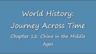 JAT:Chapter 12 China in the Middle Ages
