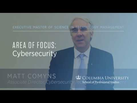 Executive MS in Technology Management: Cybersecurity Area of Focus