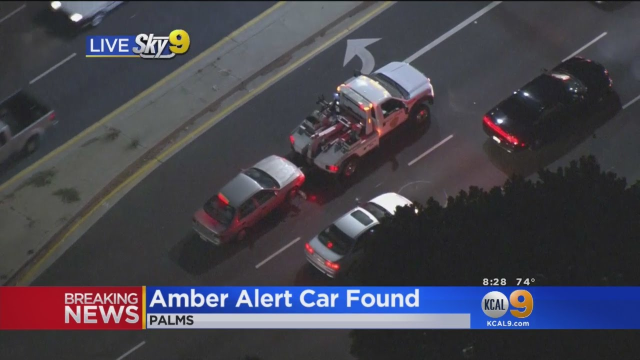 Amber Alert canceled as boy is found in Chula Vista