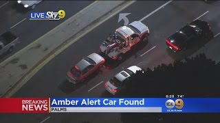 Abducted Toddler Found In LA, Amber Alert Canceled