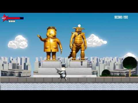 Dear Leader Gameplay / Kim Jong-un is an one man army