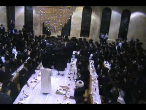 Shushan Purim Tish by Munkatch Rebbe 5770
