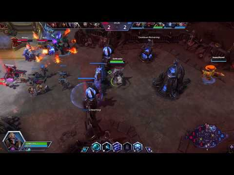 Heroes of the Storm - ImpactHound and I play Team League, Part 1