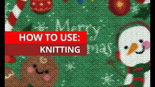 How To Use Knitting Photoshop Action