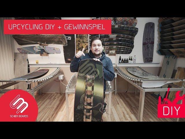Wakeboard/Kiteboard UPCYCLING: Flaschenhalter DIY + Gewinnspiel