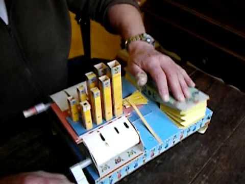 Orgeltje van Karton